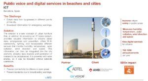 ACCIO habla sobre la solución de megafonía inalámbrica AirVoice que cubre el litoral de Barcelona