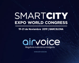 AirVoice Smart In como solución de ADTEL para la feria Smart City Expo World Congress 2019