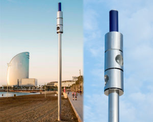 AirVoice Icaria: A public adress system in the beach of Barcelona