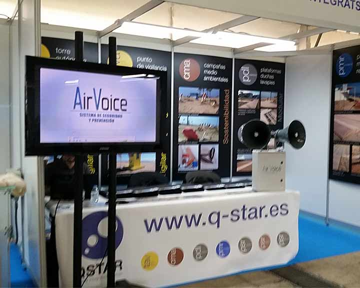 AirVoice at the International Congress of Ecoplayas 2016